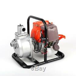 1'' 49cc Water Transfer Pump Air-cooled 4 Stroke Engine Single Cylinder Gas USA