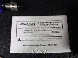 10 Stroke, 10 Ton Portable Hydraulic Single Acting Cylinder, WS-MH-HPC1-73 (M)