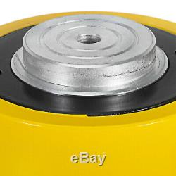 100 Tons 6 Stroke Single Acting Hydraulic Cylinder Jack Bending Durable Pulling