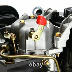 10HP 406cc Diesel Engine Vertical 4 Stroke Single Cylinder 72.2mm Shaft 186F New