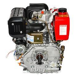 10HP Air Cool Diesel Engine 411cc 4 Stroke Single Cylinder 72.2mm Shaft Length
