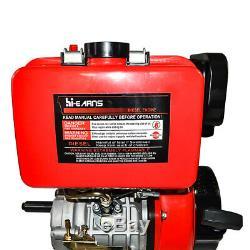 10HP Diesel Engine 4 Stroke Single Cylinder 72.2mm Shaft Length 411cc BEST