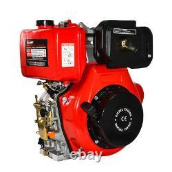 10HP Diesel Engine 411cc 4 Stroke Single Cylinder 2 5/6 Shaft Length 72.2mm