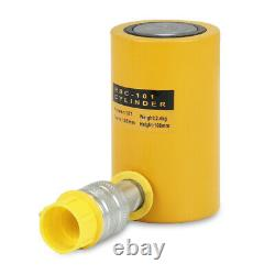 10T 50T Stroke Single Acting Hollow Ram Hydraulic Cylinder Jack Lifting Cylinder