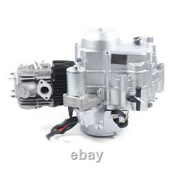 110cc 4-Stroke Single Cylinder Engine Auto Motor Fit for ATV GO Karts Air Cooled