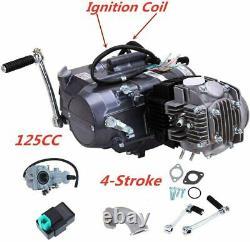125CC 1P52FMI 4Stroke Engine Motor Singl Cylinder For Honda CRF50 70 XR50 Z50