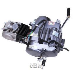 125CC 4 Stroke Manual Clutch Engine Single Cylinder CDI Fit Honda CRF50 Z50 UPS