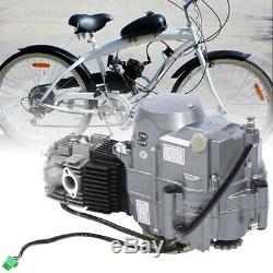 125CC 4Stroke Engine Motor E-Bike Electric Bicycle DIY Conversion Modified Kit