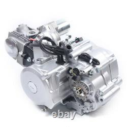125CC Semi Auto Engine Motor 3Speed withReverse 4-stroke Single-cylinder Airfilter