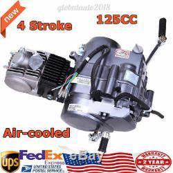 125CC Single Cylinder 4 Stroke 1P52FMI Engine Motor Kit Fits Honda CRF50/70 Z50