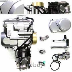 140cc Engine Package Single-cylinder 4-stroke Motor 4-Speed Manual Clutch 900ml