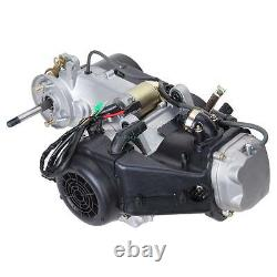 150cc CDI Air Cooled GY6 Single Cylinder 4-Stroke Complete Engine Set CVT Clutch