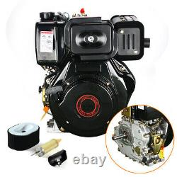 186F 10 HP 406cc 4-stroke Diesel Engine Single Cylinder Forced Air Cooling Motor