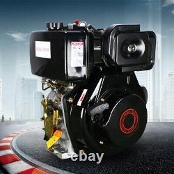 186F 406cc 10HP Diesel Engine 4 Stroke Single Cylinder Direct Injection With4 Bolt