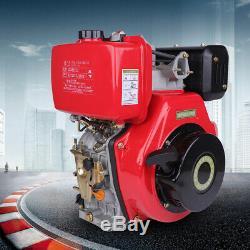 186F 9HP 406cc Diesel Engine Vertical 4 Stroke Single Cylinder 72.2mm Shaft New