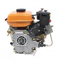 196CC 4 Stroke Air Cooling Single Cylinder Diesel Engine 53mm Shaft Hand Start