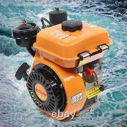 196CC 4 Stroke Vertical Diesel Engine Hand Recoil Start Single Cylinder 2.2KW US