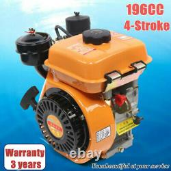 196CC Vertical 4-Stroke Diesel Engine Manual Start Single Cylinder Engine 2200KW