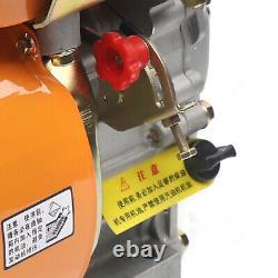 196cc Air-cooled Diesel Engine 4 Stroke Single Cylinder 168F Shaft Length 53mm