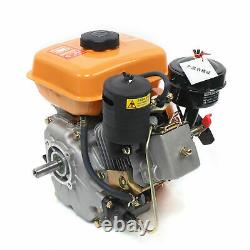 196cc Air-cooled Diesel Engine 4 Stroke Single Cylinder 53mm Shaft Length 168F