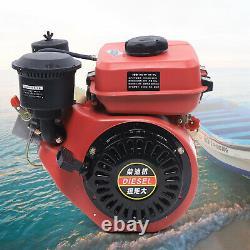 2.2KW Diesel Engine 196cc 4 Stroke Single Cylinder 53mm Shaft Length 3000rpm
