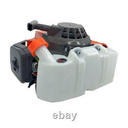2.8HP 2 Stroke 63CC Outboard Motor Boat Engine Air Cooling System CDI Ignition