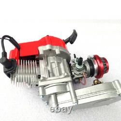 2 Stroke 47 49cc Engine Motor pull start For Pockt Mini Bike Scooter ATV Kits