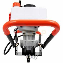 2 Stroke Post Hole Digger 52cc Gas Powered Auger Earth Drills Power Engine