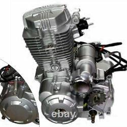 200cc 250cc 4-stroke Vertical Engine Single Cylinder with Manual Transmission CDI