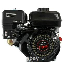 210cc 7.5HP Recoil 4-Stroke Single-Cylinder Gas Engine Go Kart Motor+420 Chain