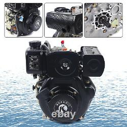 247cc Diesel Engine 4Stroke Single Cylinder Forced Air Cooling 3600rpm 2.5L NEW