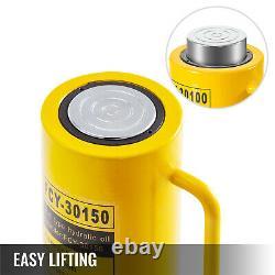 30T Solid Hydraulic Cylinder Jack 150mm/6inch Stroke Ram Single Acting