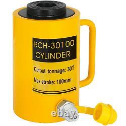 30Ton 4 Stroke Hollow Hydraulic Cylinder Jack Straightening Metal Single Acting