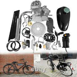 30km/h 2-Stroke 50cc Cycle Motor Kit Motorized Bike Single Cylinder Air-cooling