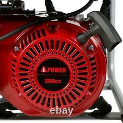 3500-Watt Gasoline Powered Portable Generator 208cc Single Cylinder 4 Stroke