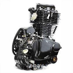 350CC Motorcycle Engine 4-Stroke Inclined Single Cylinder Water-Cooled Engine