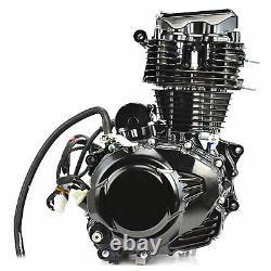 350cc Motorcycle Engine Water-cooled Single Cylinder 4 Stroke Motor Kick start