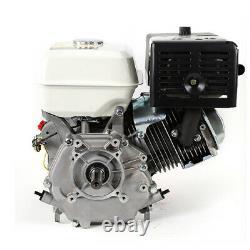 4 Stroke 15 HP New Gas Engine Go Kart OHV Single Cylinder Recoil Start Motor 9kw