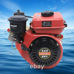 4-Stroke 196CC Diesel Engine Multi-Purpose Single Cylinder Vertical Engine Motor