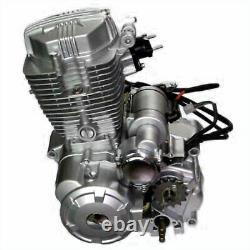 4-Stroke 250CC ATV Engine Motor with 5-Speed Transmission/CDI Single Cylinder