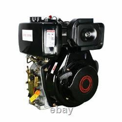 4-Stroke Diesel Engine 406cc 9.0HP Single Cylinder 72.2mm Shaft Length USA
