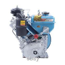 4 Stroke Diesel Motor Engine Single Cylinder Air Cooling for Agricultural Marine