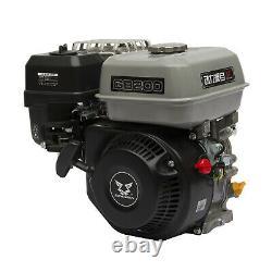 4 Stroke Outboard Motor Boat Gasoline Fishing Single-cylinder Engine 3600 rpm