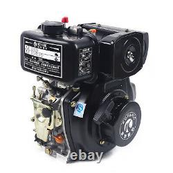 4 Stroke Single Cylinder Diesel Engine Forced Air Cooling Vertical Diesel Engin