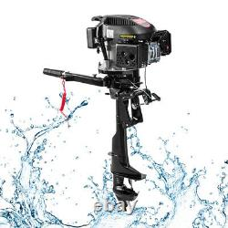 4-stroke 6 HP Outboard Motor Fishing Boat Motor Engine Single Cylinder