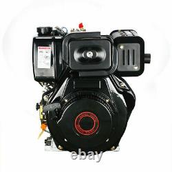 406CC 10HP Diesel Engine 4Stroke Single Cylinder Air- Cooled Recoil 3600 RPM, US