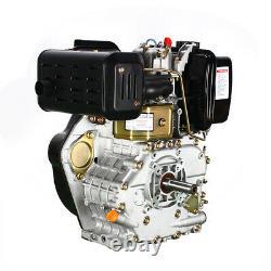 406CC 9HP 4 Stroke Diesel Oil Engine Single Cylinder 72.2mm Shaft Air Cooled USA