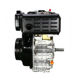 406cc 10HP Diesel Engine 4 Stroke Single Cylinder 2 5/6 Shaft Length 3600 RPM