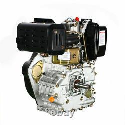 406cc 10HP Diesel Engine Single Cylinder 4-Stroke Shaft Length 72.2mm Vertical