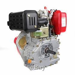 406cc 9HP 4 Stroke Diesel Engine 3600 rpm Single Cylinder Engine 5.5L 6.3KW